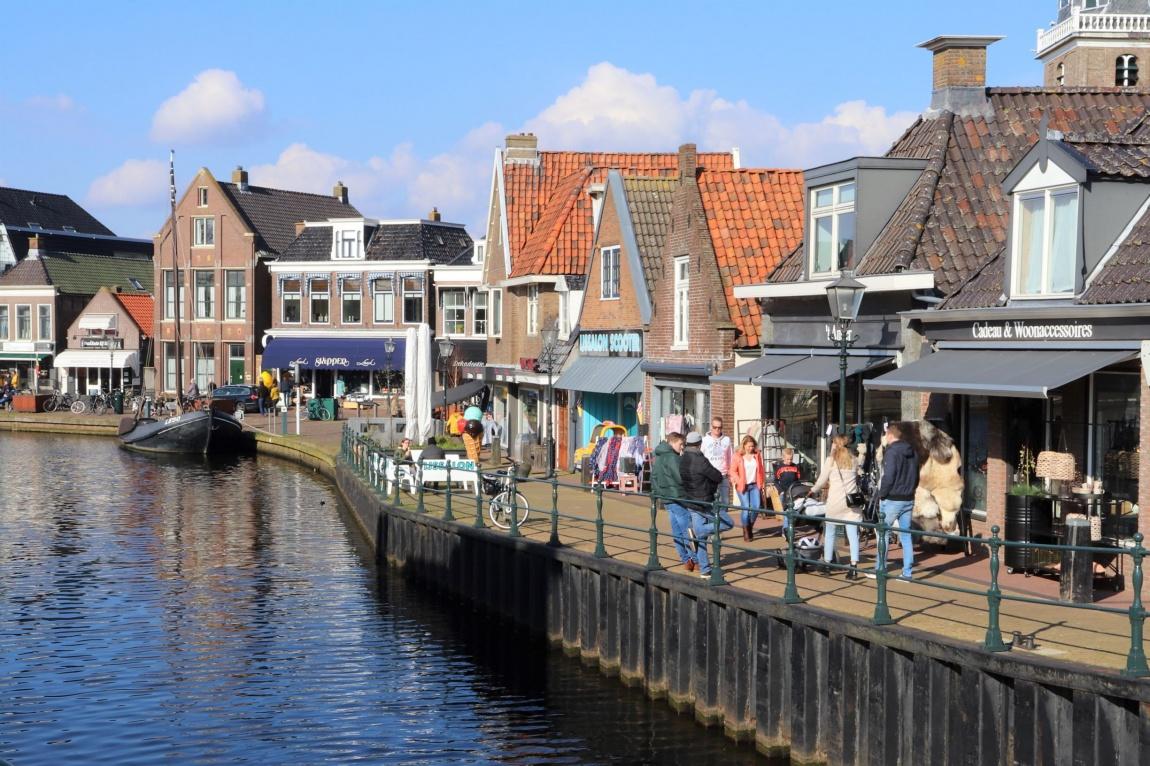 Friesland dorp gezellig