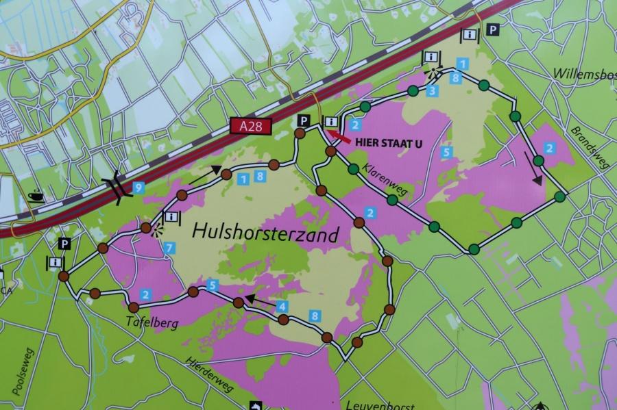 Wandeling Harderwijk Veluwe
