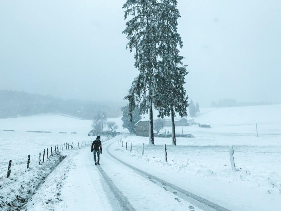 hoge venen wandelen winter