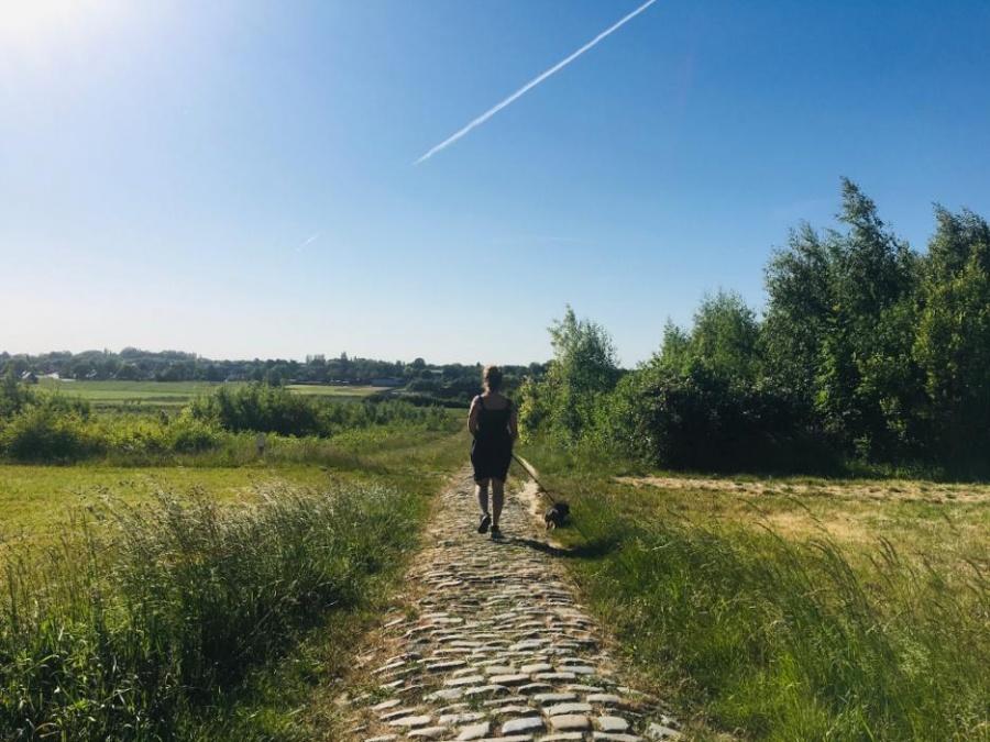 wandelen in groot Kortrijk