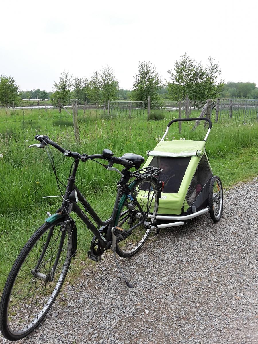 fietsen Latem