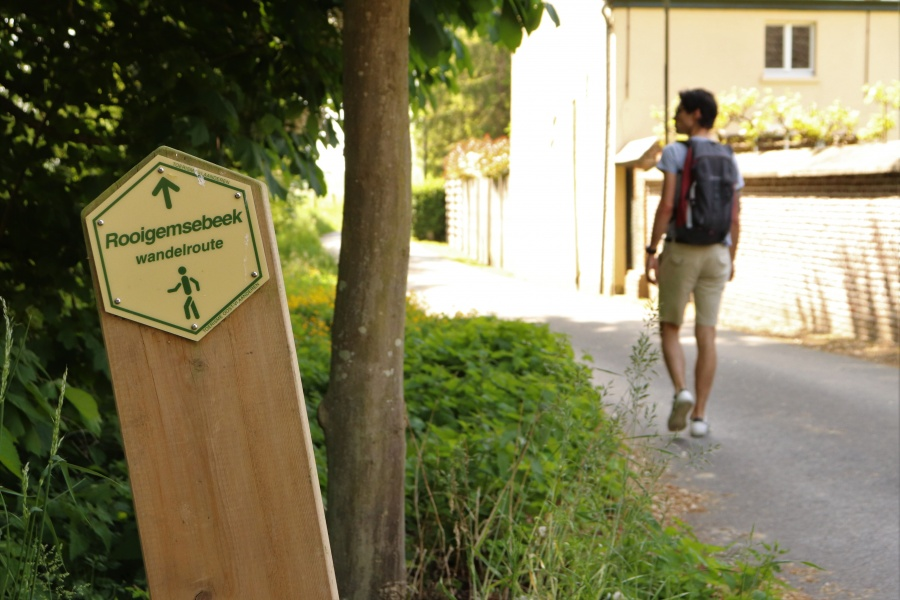Rooigemsebeek wandelroute